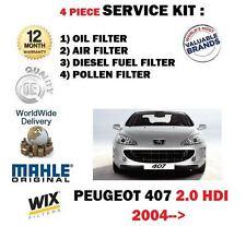 PARA PEUGEOT 407 2.0 HDI 6 / 2004- > NUEVO Servicio Aéreo de aceite kit