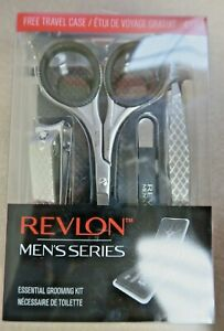 Revlon Men's Series Essential Grooming Kit with Travel Case NEW FREE SHIPPING!!!