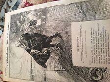 m11g ephemera ww1 1916 picture cartoon the soliloquy r e minns sydney bulletin