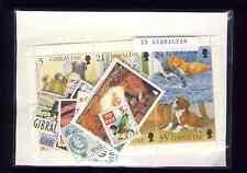 Gibraltar 25 sellos diferentes