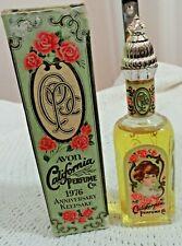 Avon California Perfume 1976 Anniversary Keepsake Moonwind Cologne 1.7 Fl Oz