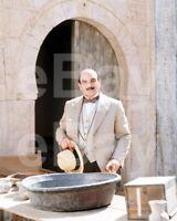 "Poirot (TV) David Suchet ""Hercule Poirot"" 10x8 Photo"