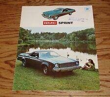 Original 1974 GMC Sprint Sales Brochure 74