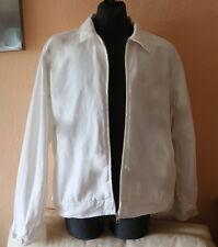 Scotch & soda señores Jeans-chaqueta XXL vintage cazadora de transición verano-blanco rar