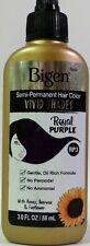 Bigen Vivid Shades Semi Permanent Hair Color #RP3 Royal Purple 3oz