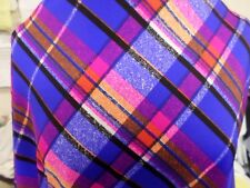 1yds print fabric good weight 4 way spandex lycra MADE IN USA J4942