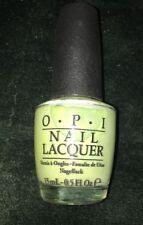 Opi Nail Polish Lacquer - Gargantaun Green Apple 0.5Oz