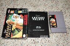 Super Caesars Palace (Super Nintendo SNES, 1993) Complete GOOD A B