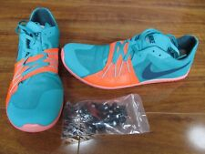 NEW Nike Zoom Forever 5 XC Spikes Track shoes MENS 9 Green Orange 904723-403 $90