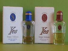 Yves Sergio Soldano edt 2 miniprofumi campioncini sample scent echantillon