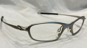 Authentic Oakley O5 127 Silver 1-633 Eyeglasses Frames Only 48[]19