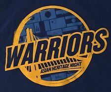 NBA Golden State Warriors Asian Heritage Night 2015 Cache Creek Large L T Shirt
