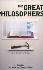The Great Philosophers: From Socrates to Turing,Frederic Raphael, Ray Monk