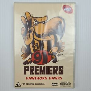 AFL: 91 Premiers - Hawthorn Hawks DVD - 1991 Grand Final - NEW - TRACKED POST