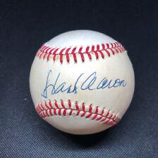 Hank Aaron Signed Autographed Feeney Baseball. JSA