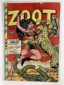 ZOOT COMICS #13 GVG 3.0 Fox GGA/cheesecake 1948