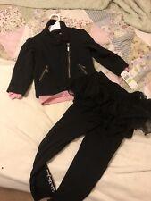 Calvin Klein Toddler Girl 3 Piece Outfit Size 4T Tutu Leggings