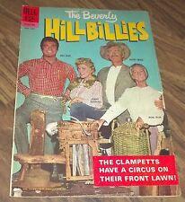 THE BEVERLY HILLBILLIES #9 DELL COMIC IN VG- 1965 (BUDDY EBSEN DONNA DOUGLAS)