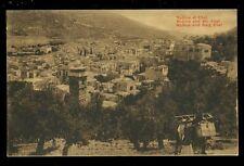 Palestine NABLUS and Mt Ebal PPC fault reverse