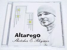 ALTAREGO-SKETCHES&RHYMES-AUTO-CHRISTIAN RAP/GOSPEL HIP HOP-w/ BB JAY/FUNDRAISER