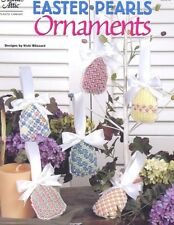 Easter Pearls Ornaments 6 Designs Plastic Canvas Pattern/Instructions NEW