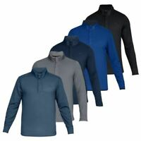 Under Armour Mens UA Storm Sweater Water Repellent Snap Mock Pullover