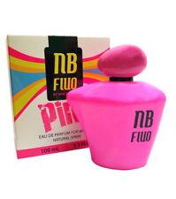 NEW BRAND FLUO PINK FOR WOMEN profumo donna edp eau de parfum 100ml NUOVO