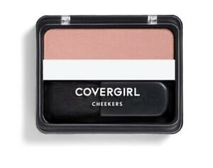NEW/ Sealed CoverGirl Cheekers Blendable Powder Blush 180 Brick Rose 3g / 0.12oz