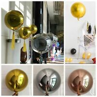 1pc 22inch Round Aluminum Foil Balloon for Wedding Marriage Birthday Party Decor