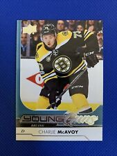 2017-18 Upper Deck CHARLIE MCAVOY Young Guns Rookie RC #242 - Boston Bruins