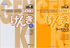 GENKI An Integrated Course in Elementary Japanese Text book and Workbook Set