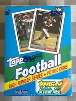 1992 Topps High Series Football Factory Sealed Wax Box - Possible FAVRE Rookie
