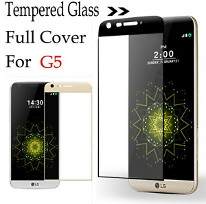Tempered Glass Screen Protector 9H For LG G5 Full Cover Screen 3D Protector