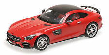 Brabus 600 Auf Basis Mercedes Benz Amg Gt S 2016 Red 1:18 Model MINICHAMPS
