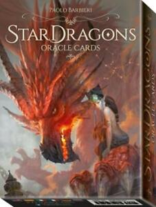 Star Dragons Oracle Cards by Rachel Paul and Paolo Barbieri 9788865277188