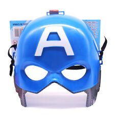 Marvel Avengers Captain America Fancy Dress Hollween Party Kids Cospaly Mask