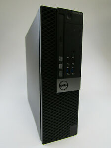 Dell OptiPlex 5040 SFF PC Intel i7-6700 Quad Core 8GB RAM 4TB HDD Windows 10 Pro