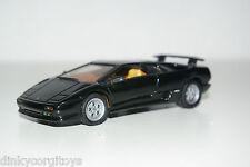 DETAIL CARS DETAILCARS 114 LAMBORGHINI DIABLO BLACK MINT RARE SELTEN RARO