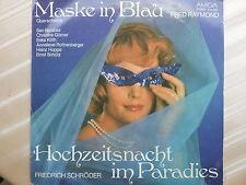 Maske in Blau - Hochzeitsnacht in Paradies - Querschnitte