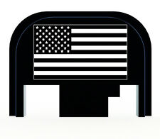 For Glock Slide Rear Back Plate Cover US Flag  17 17L 19 20 21 22 23 24 26 27 29
