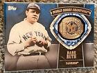 Babe Ruth World Series Champions 2014 Topps Update New York Yankees METAL RING