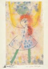 Postkarte: Paul Klee - Mit grünen Strümpfen / 1939
