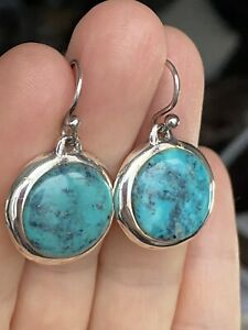 Barse sterling silver Turquoise Dangle earrings
