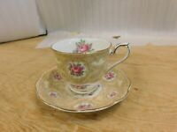Royal Albert Bone China Devonshire Lace Countess Shape Cup & Saucer