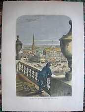 1872 Bryant print DETROIT (FROM CITY HALL), MICHIGAN (#270)