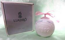 "1992 Lladro Porcelain Christmas Ball ""Christmas Carols Cherubs"" Amazing -Mint"