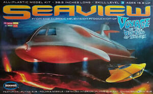 SEAVIEW SUBMARINE FROM VOYAGE TO THE BOTTOM OF THE SEA MOEBIUS PLASTIC MODEL KIT