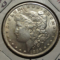 1896 MORGAN SILVER DOLLAR HIGH END COIN FROM OLD TYPE COIN COLLECTION