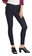 Wrangler Skinny Slim Stretch Jeans Womens Ladies Rinsewash Blue Denim