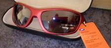 Imported Sport Sunglasses Red Frames 100% UVA UVB MSRP $29.99